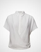 Mango Wrap Linen-Blend Shirt