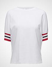 Mango Contrast Sleeve T-Shirt
