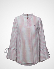 Tommy Jeans Tjw Striped Sleeve Detail Blouse Eur
