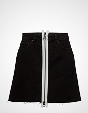 Cheap Monday Zip A Skirt Kort Skjørt Svart CHEAP MONDAY