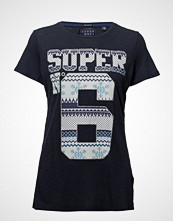 Superdry Super No 6 Photo Long Line Tee