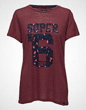 Superdry Super 6 Long Line Tee