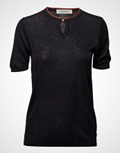 Scotch & Soda V-Neck Pullover Strikket Genser Svart SCOTCH & SODA