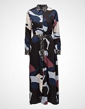 Selected Femme Slflilla Ls Maxi Shirt Dress B