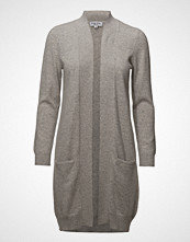 Davida Cashmere Pocket Long Cardigan
