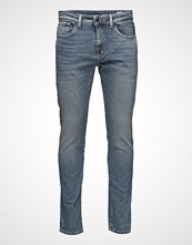 Selected Homme Shnslim-Leon 1437 L. Blue St Jeans Noos Slim Jeans Blå SELECTED HOMME