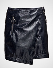 Mango Vinyl Wrap Skirt