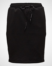 Scotch & Soda Club Nomade Sweat Skirt Kort Skjørt Svart SCOTCH & SODA