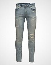 Selected Homme Shnslim-Leon 6109 Light  Blue St Jeans