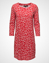 Soft Rebels Fiona Plain Dress Kort Kjole Rød SOFT REBELS