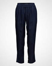 Scotch & Soda Feminine Tapered Pants Bukser Med Rette Ben Blå SCOTCH & SODA