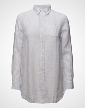 Gant O2. Striped Long Linen Shirt