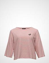 Violeta by Mango Appliqus Striped T-Shirt
