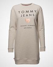 Tommy Jeans Tjw Logo Sweatshirt Dress