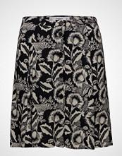Mango Printed Button Skirt