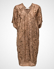 Rabens Saloner Waxed V-Neck Dress