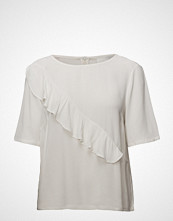 Just Female Cecilie Blouse Bluse Kortermet Creme JUST FEMALE
