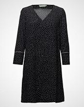 Morris Lady ÉVe Print Dress Kort Kjole Svart MORRIS LADY