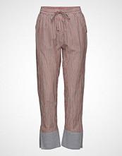 Scotch & Soda Tapered Leg Lurex Striped Pants