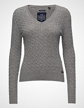 Superdry Luxe Vee Mini Cable Knit