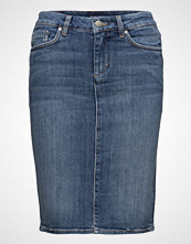 Gant O1. Blue Denim Skirt