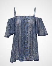 Birgitte Herskind Alina Top T-shirts & Tops Short-sleeved Blå Birgitte Herskind