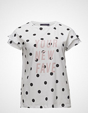 Violeta by Mango Message Polka-Dot T-Shirt