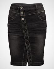 Cream Stinna Studs Skirt