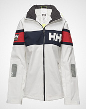 Helly Hansen W Salt Flag Jacket Jakke Hvit HELLY HANSEN