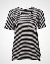 Nanso Ladies T-Shirt, Liitu T-shirts & Tops Short-sleeved Svart NANSO
