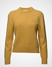 Wood Wood Anneli Sweater Strikket Genser Gul WOOD WOOD