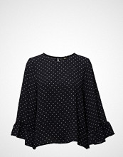 Only Onlmesa Lux Aop Wide Sleeve Top Wvn
