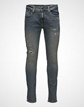 Selected Homme Shnslim-Leon 1440 Mid. Blue St Jeans