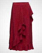 Coster Copenhagen Wrap Skirt In Cupro W. Tie