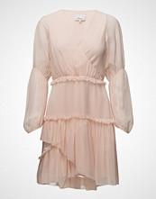 3.1 Phillip Lim Ls Painted Dot Ruffle Dress