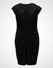 Violeta by Mango Ruched Midi Dress