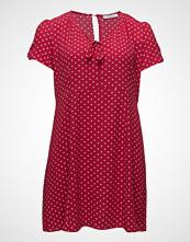 Violeta by Mango Knotted Polka-Dot Dress