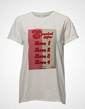 Won Hundred Alivia Print T-shirts & Tops Short-sleeved Hvit WON HUNDRED