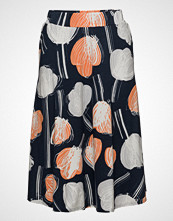 Nanso Ladies Skirt, Nuppu Knelangt Skjørt Multi/mønstret NANSO