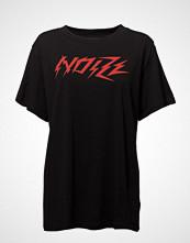 Diesel Women T-Overy-A T-Shirt T-shirts & Tops Short-sleeved Svart DIESEL WOMEN