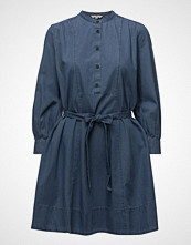 French Connection Tidore Chambray Long Sleeved Flared Dress
