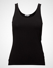 Filippa K Cotton Stretch Tank Top T-shirts & Tops Sleeveless Svart FILIPPA K