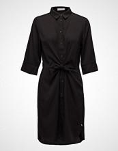 Coster Copenhagen Shirt Dress W. Tie Knot And Drape