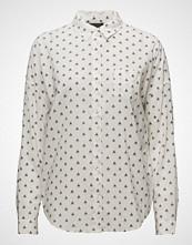 Scotch & Soda Oversized Boxy Fit Cotton Viscose Shirt In Various Prints