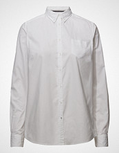 Signal L/S Shirts Langermet Skjorte Hvit SIGNAL