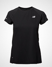 New Balance Nb Ice 2.0 Ss T-shirts & Tops Short-sleeved Oransje NEW BALANCE