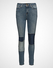Lee Jeans Scarlett High Green Patched