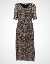 Saint Tropez Zebra Animal Print Maxi  Dress