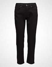 2nd One Malou 002 Crop, Satin Black, Jeans