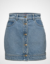 Hilfiger Collection Denim Hybrid Skirt